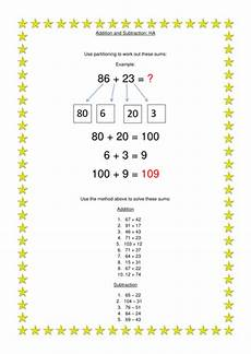 subtraction worksheets partitioning 10224 year two partitioning by bentaylor8 teaching resources tes