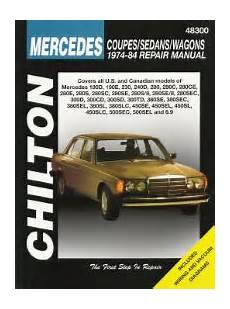 hayes auto repair manual 1984 mercedes benz w201 engine control 1974 1984 mercedes benz coupes sedans wagons chilton total car care manual