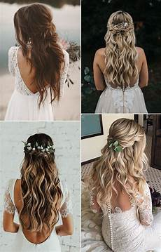 16 effortless boho wedding hairstyles to fall in love with