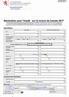 calcul impot luxembourg assufisc declaration fiscale 2017 luxembourg formulaire