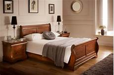 Wooden Sleigh Bed Bedroom Ideas by Louie Wooden Sleigh Bed Bedroom Ideas Wooden