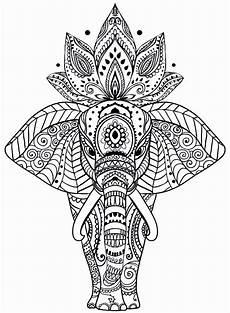 elefant mandala malvorlagen awesome animal mandala