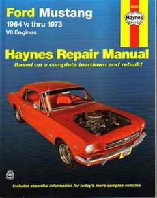 car repair manuals online free 2001 ford mustang electronic throttle control 1964 1973 ford mustang v8 haynes auto repair manual