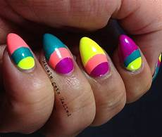sassy paints double half moon nails guest post by