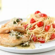 angel hair pasta with chicken recipe taste of home fry s food stores home chef classic chicken piccata with angel hair pasta lemon caper sauce