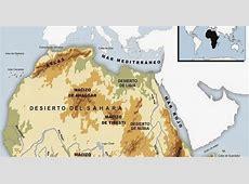 Ciencias Sociales: MAPAS FÍSICOS DE ÁFRICA (mapas