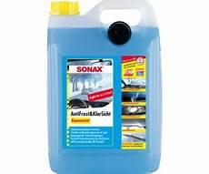 sonax antifrost klarsicht konzentrat 5 l ab 10 87