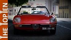 romeo classic the top ten best classic alfa romeo models
