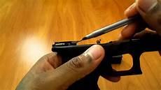glock 19 gen4 ejector and guide rod problems
