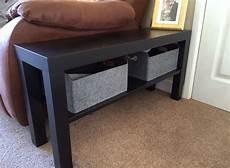 Ikea Lack Tv Bank Hack - ikea hack lack tv bench as side table shadow box coffee