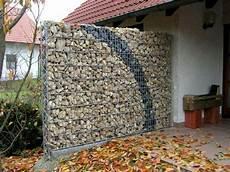 Natursteinwand Selber Machen - diy trockenmauer gabionen steinwand selber bauen ohne