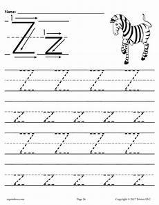 preschool worksheets letter z 24263 free printable letter z tracing worksheet supplyme