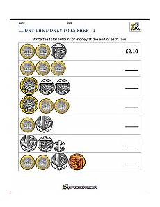 money worksheets change from 5 2100 year 3 money worksheets to 163 5