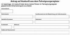 flensburg punkte abfragen mit formular zum ausdrucken