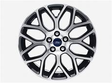 ford focus black machined finish 18 quot alloy wheel 8 spoke y