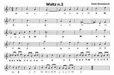 valzer delle candele spartito musica e spartiti gratis per flauto dolce waltz n 2 di