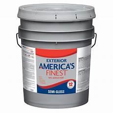 america s finest 5 gal semi gloss latex light colors