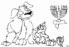 katze mit maus und hund ausmalbild malvorlage comics