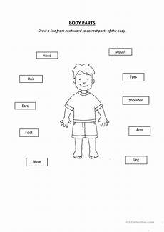 printable worksheets parts 18216 parts esl worksheets for distance learning and physical classrooms