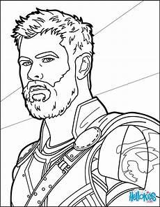 Malvorlagen Ragnarok Thor Ragnarok Coloring Pages Hellokids