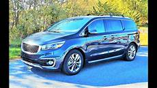 2016 kia sedona sxl start up review and tour