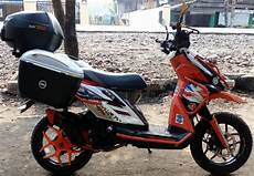 Modifikasi X Ride Simple by Galeri Foto Modifikasi Yamaha X Ride Touring Paling Gahar