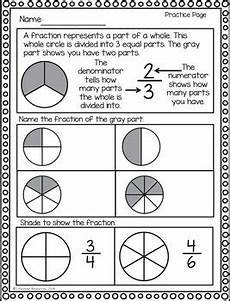 fractions game printable worksheets identifying fractions of a whole and
