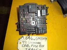 99 silverado fuse box find 99 chevy silverado gmc 1500 oem dash fuse relay box fl 15328861a motorcycle in