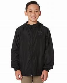 boys spray swell boys spray jacket black surfstitch