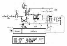 The Biogas Fueled Gas Engine Powered Cogeneration Process
