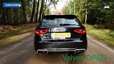 2016 audi rs3 sport exhaust startup revs loud exhaust
