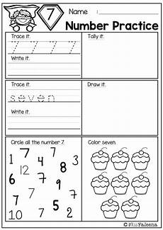 free number practice kindergarten math worksheets teaching schools numbers kindergarten