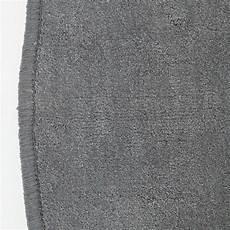 Runder Teppich 150 Cm - runder teppich grau 150 cm baumwolle kurzflor teppich
