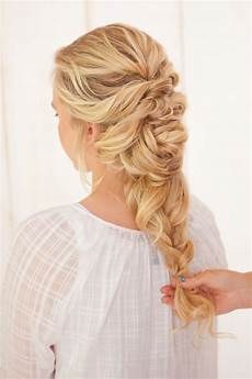 latest wedding bridal braided hairstyles 2019 step by