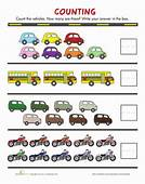 Counting Cars  Worksheet Educationcom