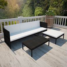 garten sofa garten sofa set 9 tlg schwarz poly rattan my shop24 ch