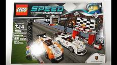 lego speed chions porsche 911 gt finish line review set