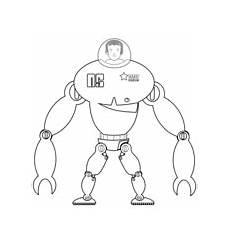 Ausmalbilder Coole Roboter Ausmalbilder Coole Roboter Kostenlos Zum Ausdrucken