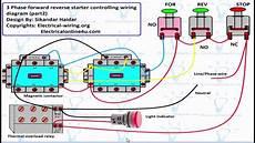 forward motor control circuit diagram for 3 phase hindi urdu youtube