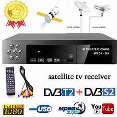 smart digital satellite tv receiver dvb t2 dvb s2 fta