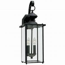 sea gull lighting aluminum jamestowne two light outdoor wall lantern led outdoor wall lights