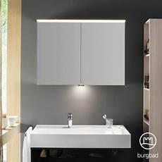 Spiegelschrank Mit Led - burgbad yumo spiegelschrank mit led beleuchtung und 2