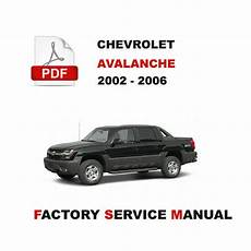 free service manuals online 2006 chevrolet avalanche transmission control official service maintenance manual for 2002 2006 chevrolet avalanche 1500 ebay