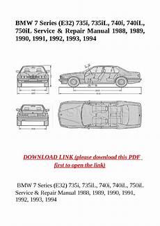 2012 bmw 7 series owners manual owners manual usa bmw 7 series e32 735i 735il 740i 740il 750il service repair manual 1988 1989 1990