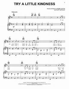 try a little kindness sheet music glen cbell piano vocal guitar right melody