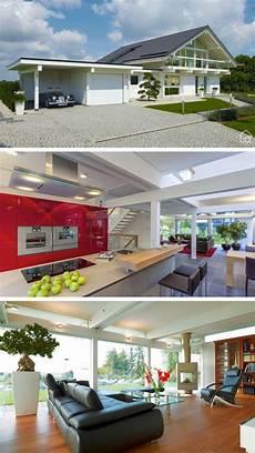 garage innen mit holz einfamilienhaus neubau modern fachwerkhaus mit satteldach