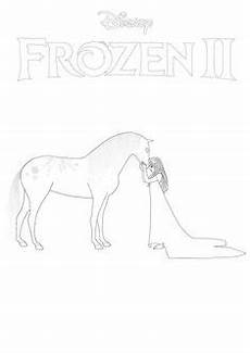 elsa from frozen 2 coloring page in 2020 frozen coloring