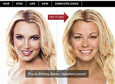 hollywood hair virtual makeover make up online free
