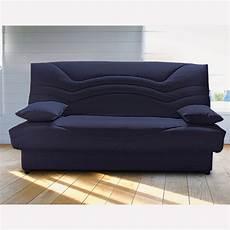 housse de clic clac bleu banquette clic clac 140 cm confort grand luxe