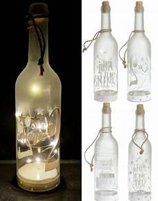 flaschenle selber machen led dekoflasche 10 led 4er set flaschenlicht